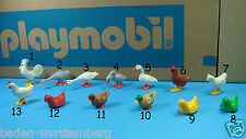 Playmobil zoo farm house hen rooster duck goose PICK one made in Germany toy 123