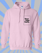 Stag Party - Design Your Own Hoodie    Personalised Lads Funny Hoodie   Pink