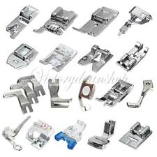 Multiple Domestic Sewing Machine Foot Feet Bobbin For Brother Singer Toyota