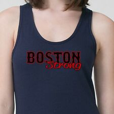 BOSTON STRONG T-shirt 2013 MARATHON Red Sox World Series Adult Tank Top