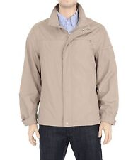 Calvin Klein Water Repellent Stone Beige Soft Shell Windbreaker Jacket Coat