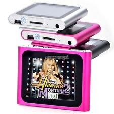 "New Slim Mp3 Mp4 Player With 1.8"" LCD Screen FM Radio, Video,Movie Support 2-16G"