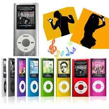 4th 1.8in LCD Digital MP3 MP4 Video FM Radio Lecteur Pr 2-16GB Micro SD TF Carte