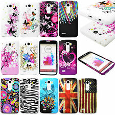 Mobile Phone Silicone Rubber Soft Back Cover Case TPU Skin Protector For LG G3