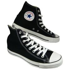 Converse All Star HI Top Canvas Pumps High Trainers Shoes Mens Womens UK Size BK