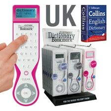 Electronic Dictionary Bookmark Collins International English
