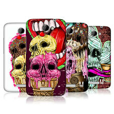 HEAD CASE DESIGNS ICE CREAM SKULL CASE COVER FOR HTC ONE X