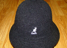Black  KANGOL  Winter  Bermuda  Casual   Bucket  Hat  Style K1931ST