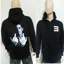 Eminem F-YOU  BLACK ZIPPER  ZIP UP / PULLOVER HOODIE Rappers Slim Shady rap god
