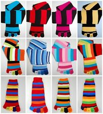 Toe socks cotton pairs warm girls womens 5 toes five fun funky colour