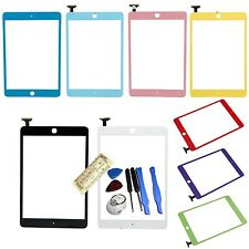 Colors Front Glass Panel Touch Lens Digitizer Screen Replacement For iPad Mini