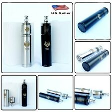Infinite 26650 Cartel mech mod Stainless Steel,Black with Tobh,Atty Atomizer