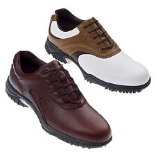 FOOTJOY MENS CONTOUR GOLF SHOES - NEW WATERPROOF LEATHER TOUR SPORT 2013