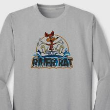 RIVER RAT Rafting Salt River AZ T-shirt Water Sports Tubing Long Sleeve Tee