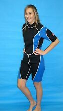 Wetsuit 3MM Female shorty Style size Small to 4X Plus Size 9814 F