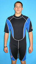 Wetsuit 3MM shorty Style size Small to 5X Plus Size Dive Gear 9804