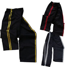 TurnerMAX Martial arts Karate kung fu kick Boxing Training Exercise pant Stripe