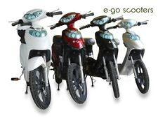 100% UK Road Legal e-go scooters New Electric Bike with Lithium battery 2014 mod