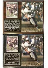 Dave Casper #87 Oakland Raiders Legend The Ghost Hall of Fame Photo Card Plaque