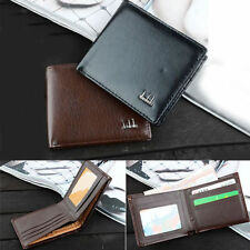 Hot Sale Slim Men's Bifold Purse Leather Cards Clutch Pockets Wallet 2 Colors