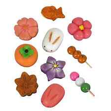Japanese Cultural Minature Sweets Dessert Snack Fridge Magnet Confectionery Gift