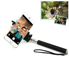 Selfie Extendable Handheld Telescoping Pole Monopod Bracket for iPhone Android