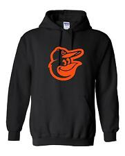 Baltimore Orioles Logo Hooded Sweatshirt (Sizes Youth S - Adult  5XL)