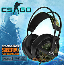 Steelseries Siberia V2 Gaming Headphone CSGO Counter Strike Edition Free Ship