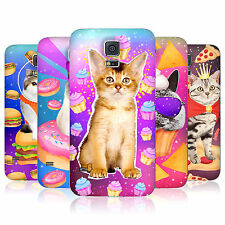 HEAD CASE REALISTIC CATS IN SPACE BATTERY BACK COVER FOR SAMSUNG GALAXY S5