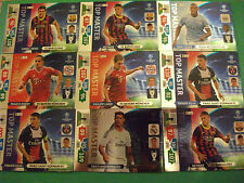 Panini Adrenalyn XL Champions League 2013-2014 Top Master Cards Choose your card