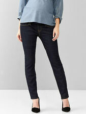 NWT GAP MATERNITY manySizes 2,4,6,8,10,12,16 DEMI PANEL ALWAYS SKINNY JEANS PANT