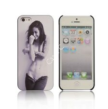 FOR iPHONE 5 5S Sexy Tatoo Nude Girl Embossing Lomo Picture Hard Back Case Cover