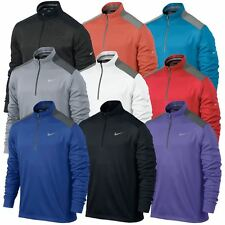 2014 Nike Dri-Fit 1/2 Zip Performance Sweater Golf Mens Cover-Up Pullover