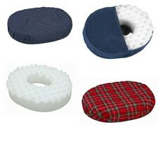 Donut Pillow Convoluted Foam Ring Cushion, 16in, 18in, -2 Color Choices!