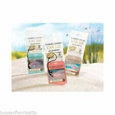YANKEE CANDLE CAR JAR SINGLE - AIR FRESHENER COLLECTION