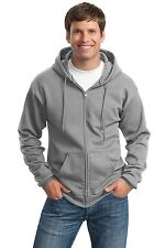 New Port & Company Big & Tall Full Zip Hooded Sweatshirt LT-4XLT PC90ZHT