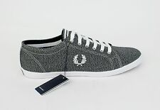 Fred Perry Men's Kingston Twisted Chambray Black B3179 SALE