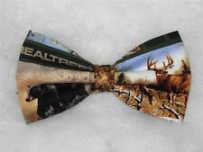 (1) PRE-TIED BOW TIE- REALTREE CAMO HUNTING THEME - 3 PATTERNS TO CHOOSE FROM