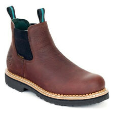 Georgia GR500 Brown Waterproof High Romeo Work Boots