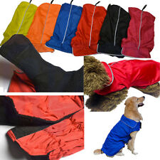 Dog Raincoat Waterproof - Outdoor Rain Coat Jacket Coat Fleece Reflective Safe