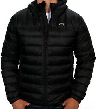Lacoste Men's Packable Down Jacket BH2533-51 DY4 Black NWT Authentic