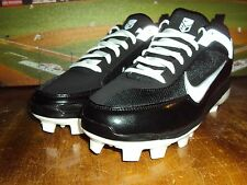 NIKE AIR SHOW ELITE 2 MCS BLACK / WHITE BASEBALL SOFTBALL MLB STYLE