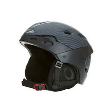 New Boeri Tactic Carbon Black Adult Ski Snowboard Helmet Vented, Removable Liner