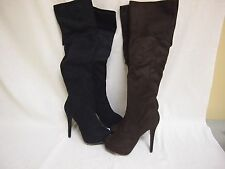 Charles David Adelina Over the Knee Microsuede Boots