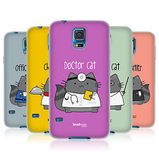HEAD CASE WILBUR THE PROFESSIONAL TPU GEL BACK CASE COVER FOR SAMSUNG GALAXY S5