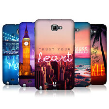 HEAD CASE DESIGNS WORDS TO LIVE BY 4 CASE FOR SAMSUNG GALAXY NOTE N7000 I9220