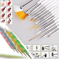 Fashion Nail Art Care Design Set Dotting Painting Drawing Polish Brush Pen Tools
