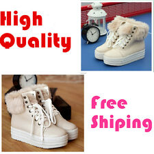 very pant Muffin and Platform korean warm snow boots fashion Canvas casual boots