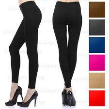 Fashion Solid Full Length Seamless Stretch Footless Stocking Long Pants Leggings