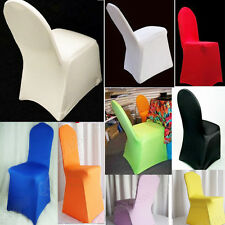 New Hot Polyester Folding Banquet Universal Chair Covers Wedding  LT